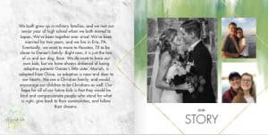 adoption profile book story
