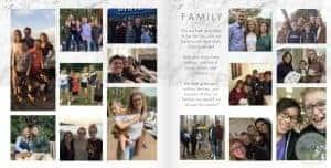 adoption profile book family