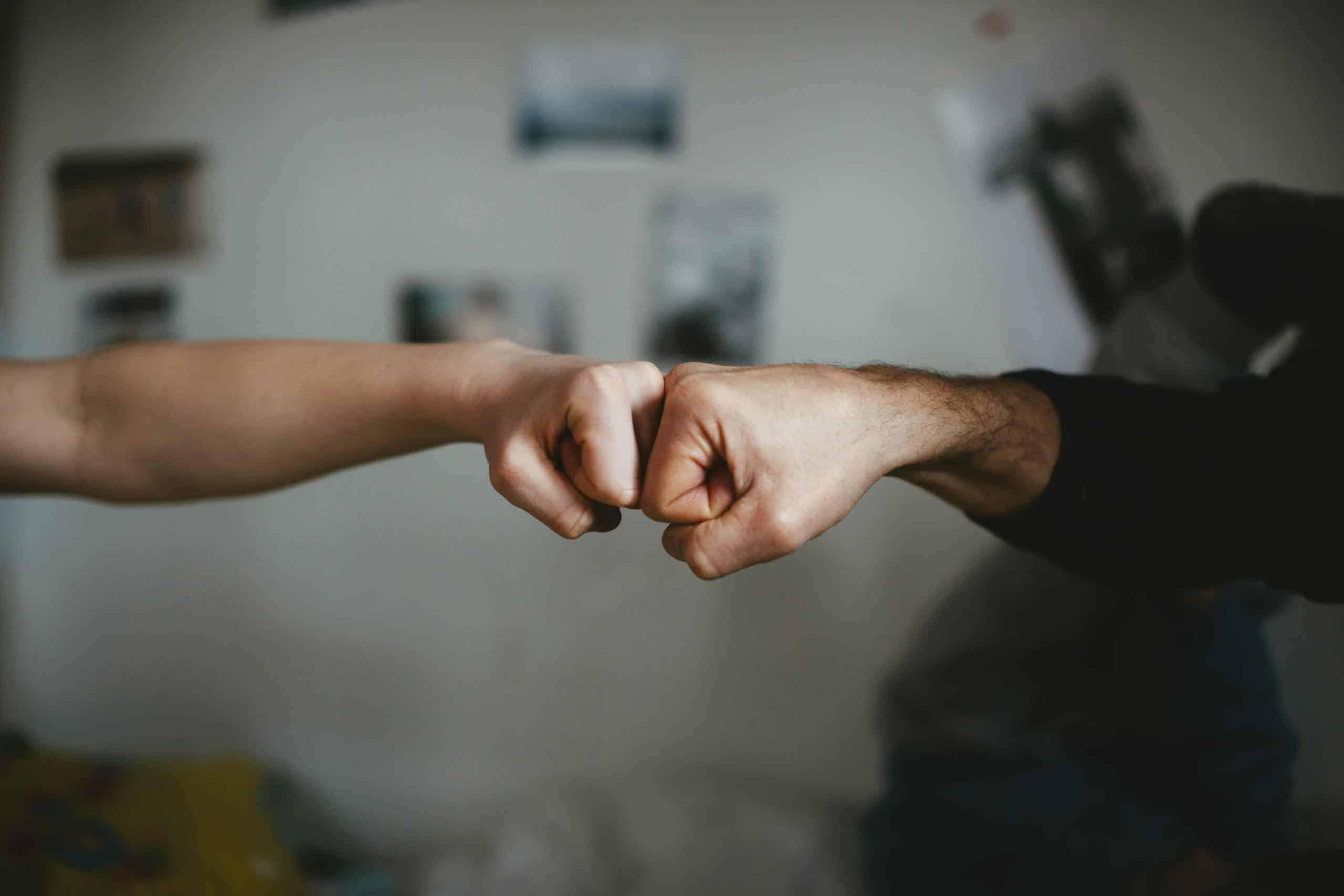 fist bump agreement