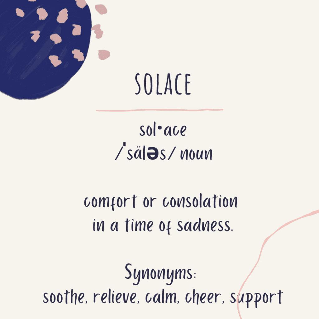 Solace definition