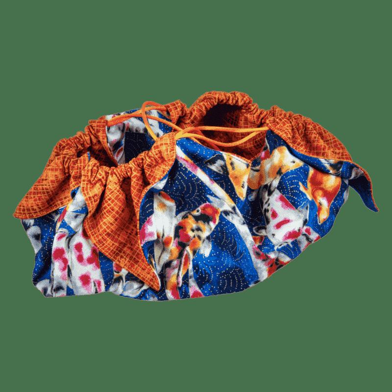 Origami Cinch Bag